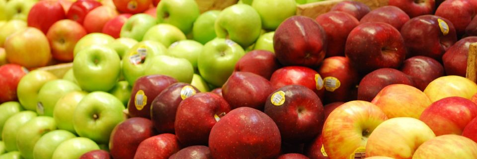 Fresh Organically Grown Apples
