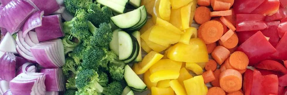 Freshly Sliced & Diced Veggies